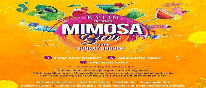 Kylin Premier introduces Mimosa Bar